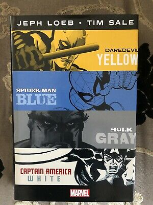 £29 • Buy Marvel Knights 'Yellow, Blue, Gray, White' Omnibus By Jeph Loeb And Tim Sale