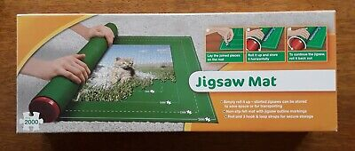 £3.20 • Buy Jigsaw Mat. Used Once! Max 2000 Puzzles. Great Storage Saver.