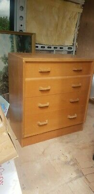 £75 • Buy GPlan E Gomme Mid Century Chest Of 4 Drawers NZE169721B