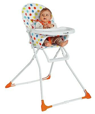 £29.99 • Buy Cuggl Adjustable Baby Highchair Infant High Feeding Seat Toddler Table Chair UK