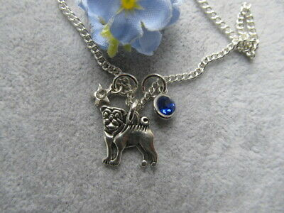 £1.99 • Buy  Cute PUG DOG  Necklace  Dog Lover On 18 Inch Silver Plated Chain B88