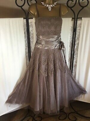 £30 • Buy Stunning Monsoon Evening Dress Size 12 New With Tags