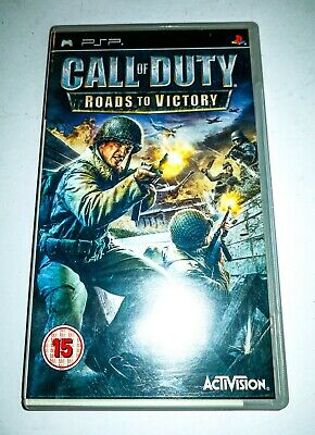 £12 • Buy Sony Psp Call Of Duty Roads Of Victory Game 15yrs +