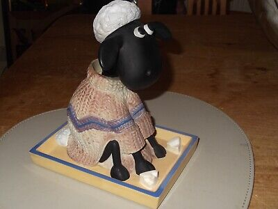 £2.50 • Buy Shaun The Sheep Vintage Nodding Bobble Head Model From Wallace And Gromit