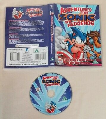 £3 • Buy DVD - Adventures Of Sonic The Hedgehog Sonic Search And Smash PAL UK R2
