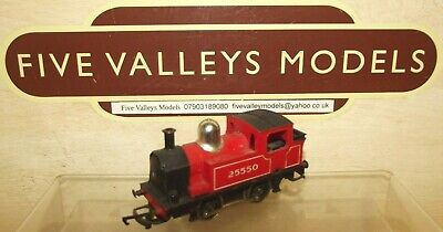 £19.99 • Buy 090921/15 Tri-ang/Hornby R455 Red Industrial Loco No: 25550  0-4-0