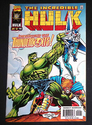 £119.99 • Buy The Incredible Hulk #449 Marvel Comics 1st Appearance Of Thunderbolts NM