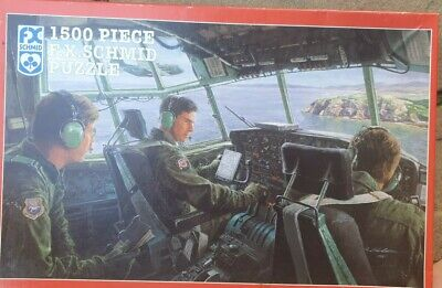 £12.95 • Buy On The Deck Over Scotland - Schmid 1500 Piece Jigsaw. Vintage 1997 - COMPLETE