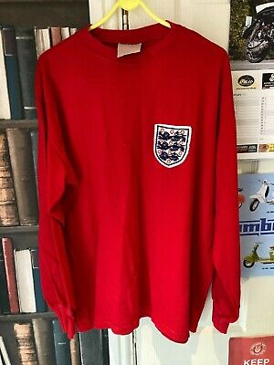 £19.99 • Buy Retro England 1966 World Cup Replica Sweater / Shirt By Toffs - Large