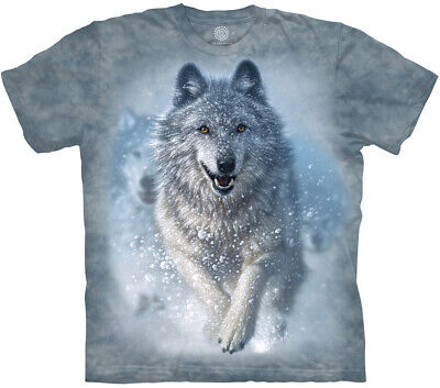 £25.99 • Buy SNOW PLOW WOLF The Mountain T Shirt Unisex - Eco-friendly