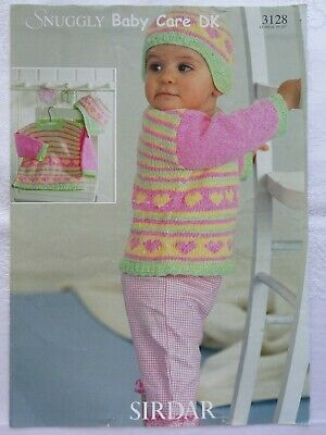 £1.30 • Buy Baby & Childrens Sweater & Hat Knitting Pattern  16   To 26    D K