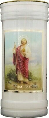 £6.99 • Buy SAINT JUDE DEVOTIONAL HOLY CANDLE 100's OF OTHER CATHOLIC RELIGIOUS ITEMS LISTED
