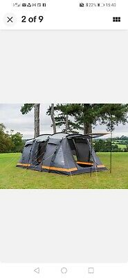 £229 • Buy OLPRO Orion 6 Person Berth Tent - Charcoal (OL1171)