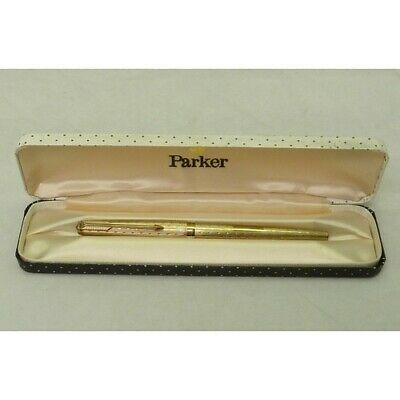 £725 • Buy Parker 61 9ct Gold Fountain Pen With Original Case
