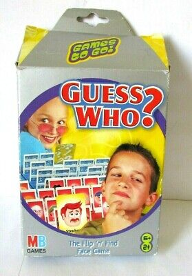 £5.99 • Buy MB Games Guess Who Travel Version From 2001 - RARE ITEM ?