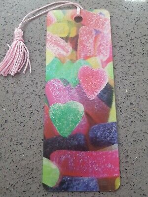 £0.99 • Buy 3D Sweets Bookmark, With Tassel, Packaged