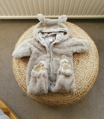 £4.99 • Buy Zara Pramsuit 0-3 Months Baby Girl Boy (Please See My Other Items)