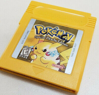 $46.99 • Buy Pokemon Yellow: Special Pikachu Edition (Game Boy) Authentic, Working Battery