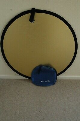 £9.99 • Buy Lastolite Collapsible Reflector 100 Cm Gold/White With Bag