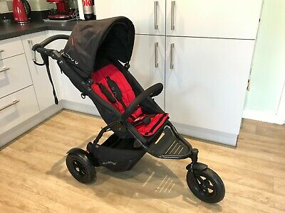 £150 • Buy Phil & Teds Sports Jogging All Terrain 3 Wheel Buggy Pushchair Mountain Off Road