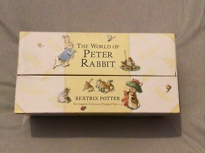 £30 • Buy The World Of Peter Rabbit Complete Collection - Beatrix Potter (Box Damaged)