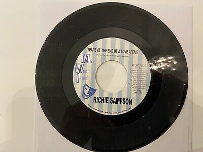 £27.99 • Buy Richie Sampson Tears At The End Of A Love Affair ( Northern Soul )