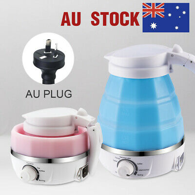 AU38.97 • Buy Portable Water Kettle Foldable Travel Collapsible Pot Electric Silicone Kettle