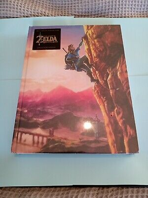 AU70 • Buy The Legend Of Zelda: Breath Of The Wild Collectors Edition Guide NEW & SEALED