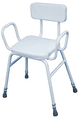 £29.99 • Buy Aidapt Malling Perching Stool VG837 With Arms And Padded Back - GRADED STOCK