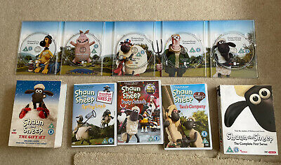 £6.49 • Buy DVD * SHAUN THE SHEEP BOX SETS * SERIES 1 & The Gift Set (8 DVDs)