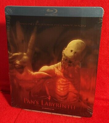 £29 • Buy PAN'S LABYRINTH: Blu-Ray_STEELBOOK_Canadian Release_VERY RARE+OOP_REGION 'A'_NEW