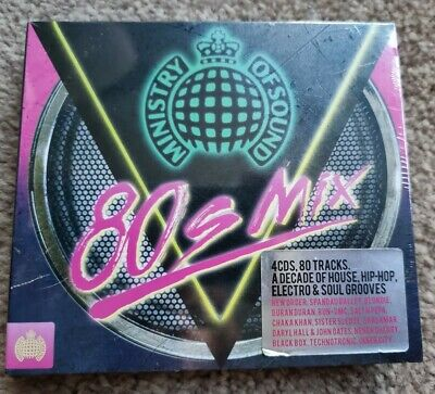 £5 • Buy Ministry Of Sound 80s Mix 4CD Various Artists House, Electro, Soul New & Sealed
