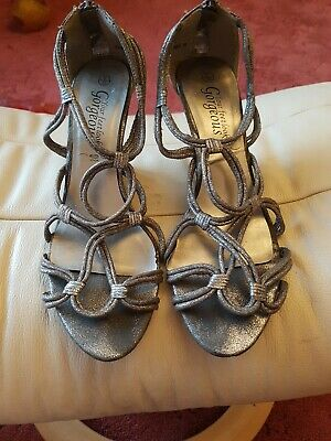 £1 • Buy New Look Size 6 Strappy Wedge Sandals