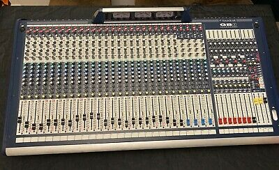 £1150 • Buy Soundcraft GB8 24 Mono + 4 Stereo Mixer With Case / MINT