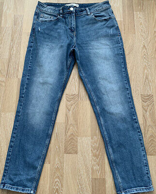 £10 • Buy Next Jeans Relaxed Skinny Mid Rise Size 13