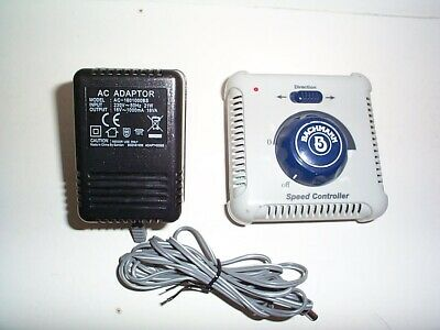 £15 • Buy BACHMANN SPEED CONTROLLER MODEL No 46605-UK AND AC ADAPTOR TESTED