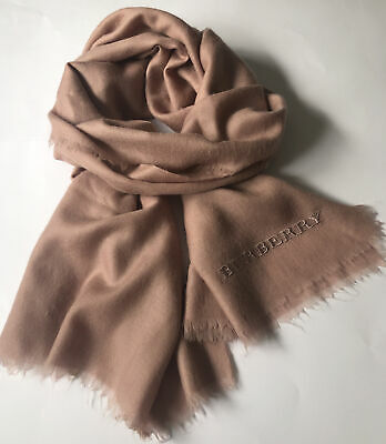 £49.99 • Buy Auth Burberry Cashmere Scarf