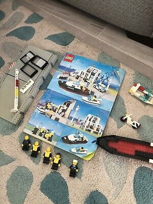 £15 • Buy Vintage Lego Police Harbour 6540 Instructions And Parts