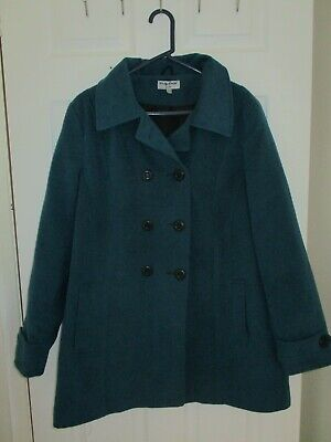£4.99 • Buy Teal Warm Winter Coat Size 20 Vicky Smith