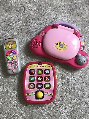£20 • Buy Vtech Baby Laptop Tablet Fisher Price Remote Control