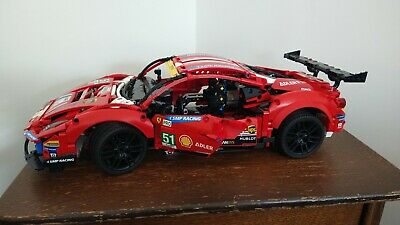 £100 • Buy Lego Technic 42125 Ferrari 488 GTE AF Corse Complete With Instruction Manual
