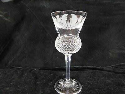 £75 • Buy An Edinburgh Crystal Cut And Etched Thistle Glass 6 7/8