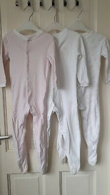 £0.99 • Buy Girls Sleepsuits 9-12 Months