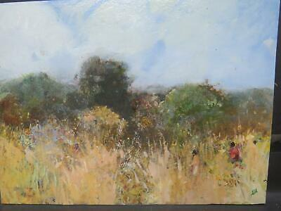 £17 • Buy James Carlisle B1937 French Impressionist Oil Muted Tones With Figures