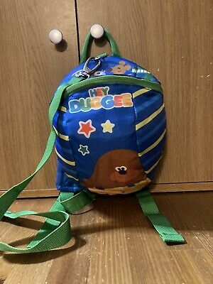 £7 • Buy Plush Hey Duggee Backpack With Reins Kids Detachable Safety Harness Nursery Bag