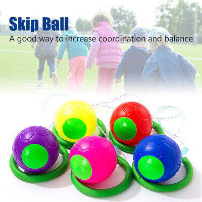AU12.95 • Buy One Foot Gift For Kids Fun Toy Skip Ball Fitness Equipment Outdoor Sports