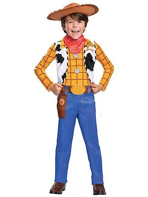 £31.74 • Buy Woody Classic Cowboy Toy Story 4 Disney Movie Toddler Boys Costume 3T-4T