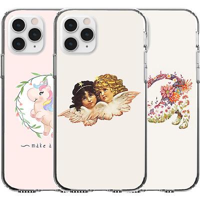 AU16.95 • Buy Silicone Cover Case Love Cupid Baby Cat Kitten Unicorn Cute Girl Wings Art