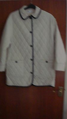 £7.95 • Buy 'PENNY PLAIN' Cream Quilted Jacket, Size M
