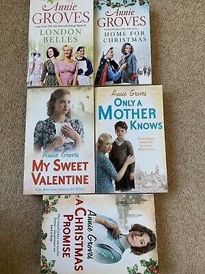 £8 • Buy Annie Groves - Article Row Saga - 5 Books (NEW AND PREOWNED)